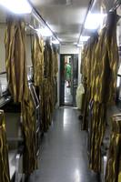Insider the Singapore to Malaysia sleeper carriage