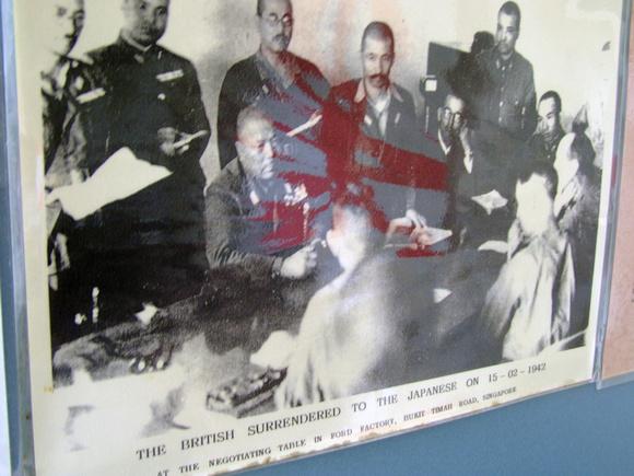 British surrender to Japanese in Penang