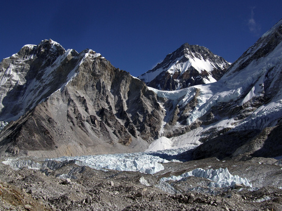 Mount Everest Base Camp in the off season