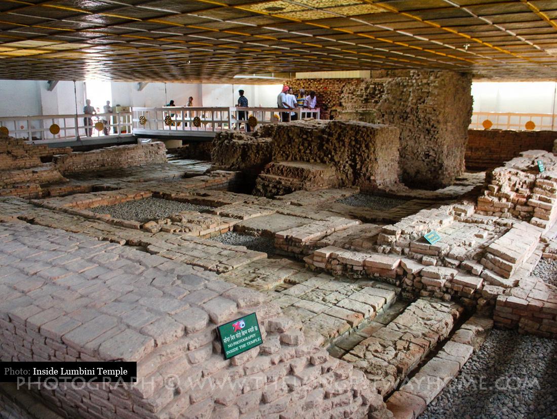 Inside the Mayadevi Temple