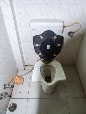 Toilet in India