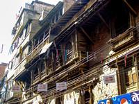 Old street in Kathmandu vs ....