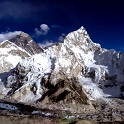 Panoramic view of Mount Everest - Nepal
