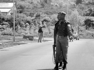 Nigerian Police at work