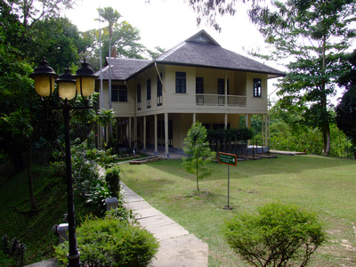 Historic Agnes Keiths House in Sandakan