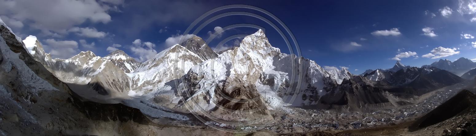 Mount Everest Panorama Mount Everest Panorama