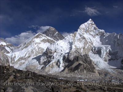 Mount Everest from Kalla Pathar