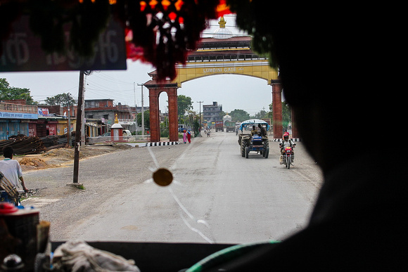 Bhairahawa-Lumbini bus