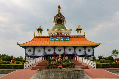 Tibetan Temple in Lumbini