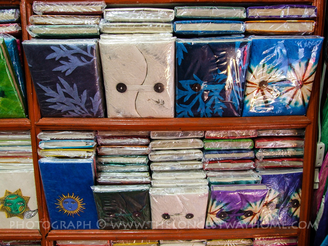 Rice Paper Books from Nepal