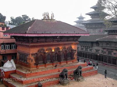 Shiva-Parvati Temple Kathmandu Durbar Square Nepal