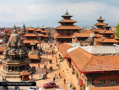 Patan Durbar Square Rooftops