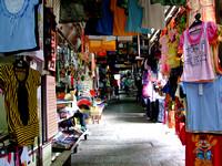 Hawker stalls in Kek Lok Si