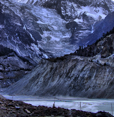 Glaciers in Nepal