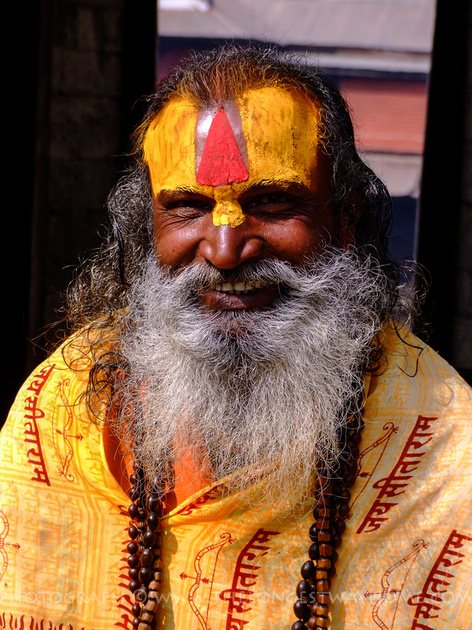 Sadhu's in Nepal are usually very friendly