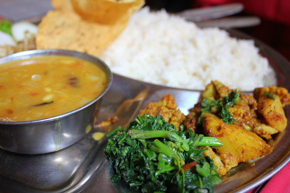 What is the food like in nepal for Cuisine of nepal