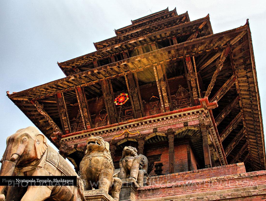 Nyatapola Temple Bhaktapur Nepal