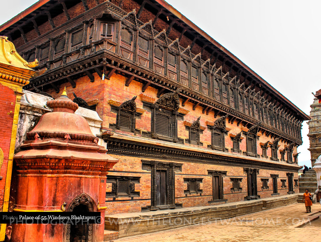 55 Window Palace in Bhaktapur
