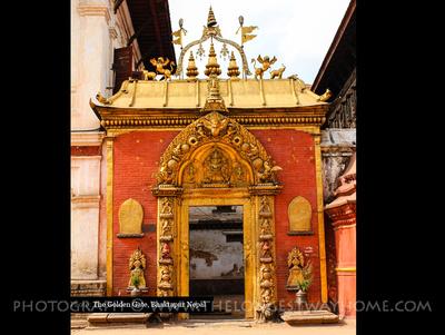 The Golden Gate Bhaktapur Nepal