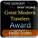 The Longest Way Home Travel Blog - Great Modern Travelers Award