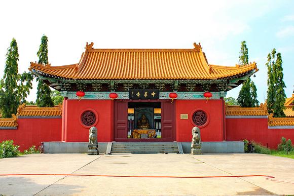 Taiwan temple in Lumbini