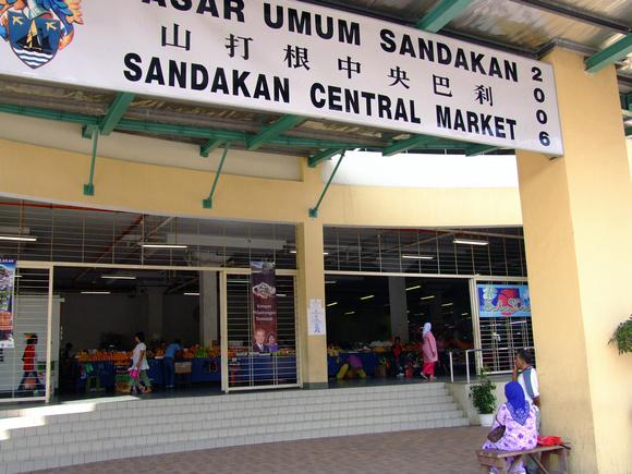 The new Sandakan Market in Malaysia