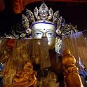 Statue of Buddha in - Tibet