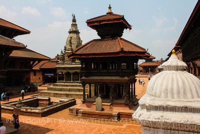 The rear of Bhaktapur Durbar  square
