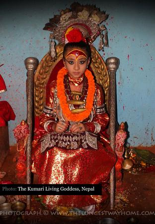 The Kumari Samita Bajracharya - Living Goddess