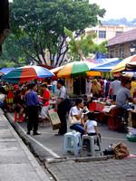 Gaya Street market in Kota Kinabalu, Sabah, Malaysia
