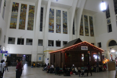 Inside Tanjong Pagar railway station