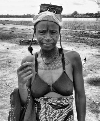 Fulani Woman in Nigeria, Africa