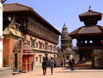 Streets of Patan, Nepal