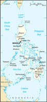 Mindanao is the large island in the south