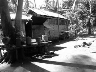 Coconut farmers house