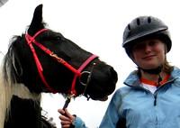 Becky Samson & Bertie the Horse