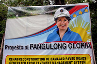 Election poster in the Philippines