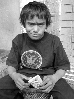 Street Child from Kathmandu