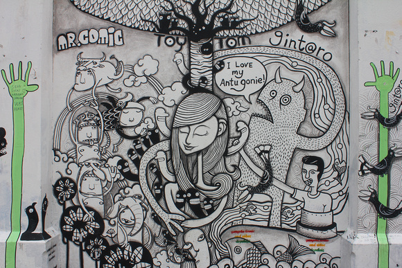 Street Art in Kota Kinabalu