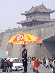Police in Xian