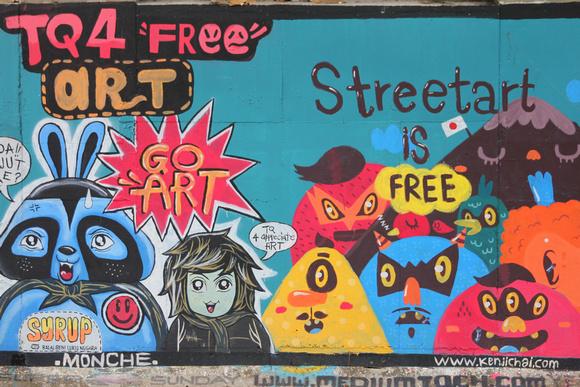 Street Art in Kuala Lumpur is about freedom