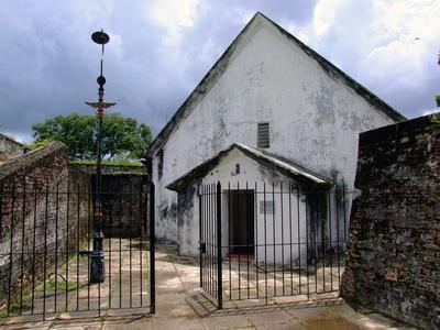Old Chapel inside Fort Cornwallis, Penang, Malaysia