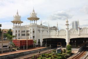 Old railway station in Kuala Lumpur