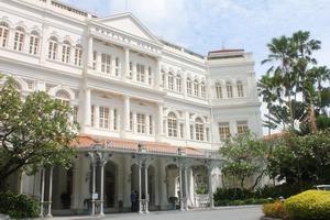 Raffles Hotel, quite expensive!