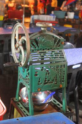 Ice grinder from Kota Kinabalu's night market