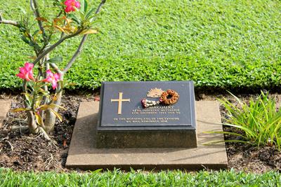 Gravestone from Kanchanaburi Thailand