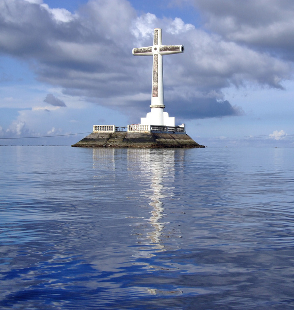 Sunken Cemetery, Camiguin island, The Philippines