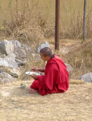 Buddhist Monk in Nepal