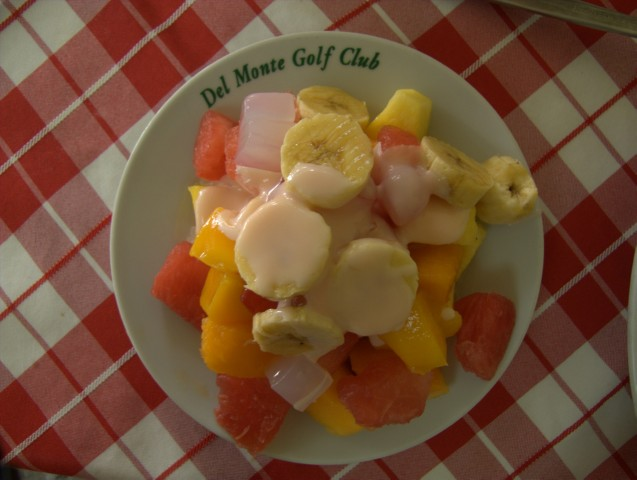 Fruit salad from Del Monte
