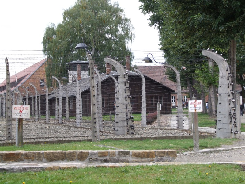 Auswitch Concentration Camp (click to enlarge)